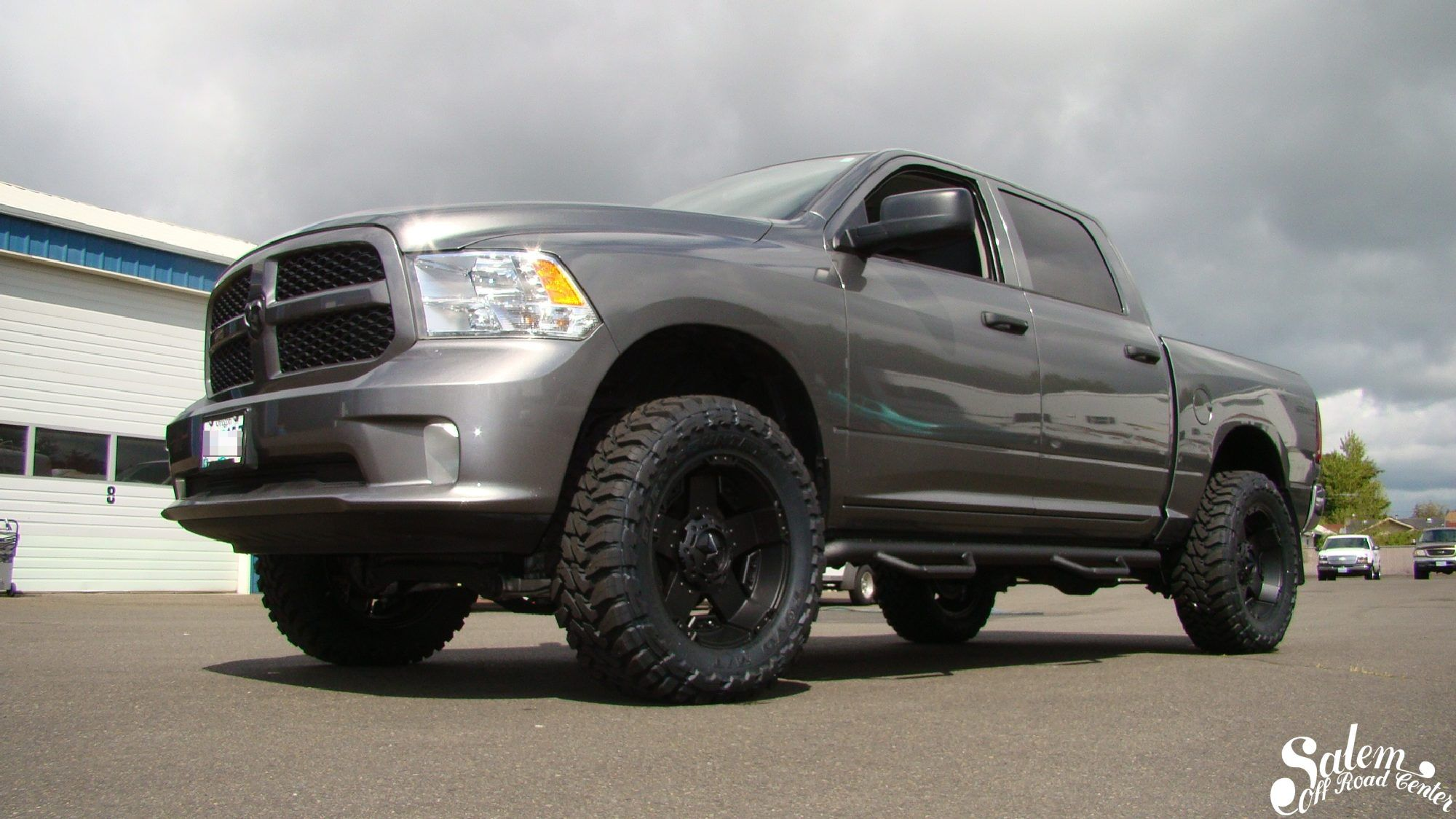 On this 2013 ram 1500 we installed a bds suspension 4 lift n