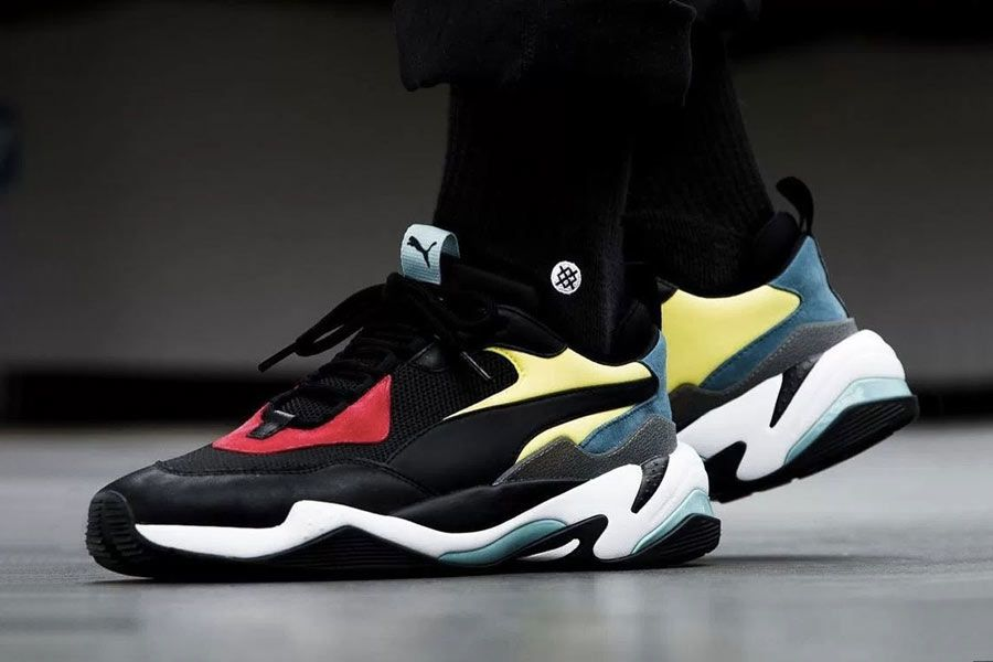 72eb2c9cca3a A closer look to the Puma Thunder Spectra.  Puma  ThunderSpectra  Sneakers
