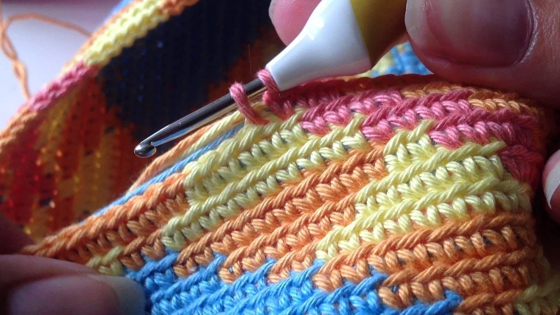 Yarn Overyarn Under Haken Mochila Wayuu Bag Haken Pinterest