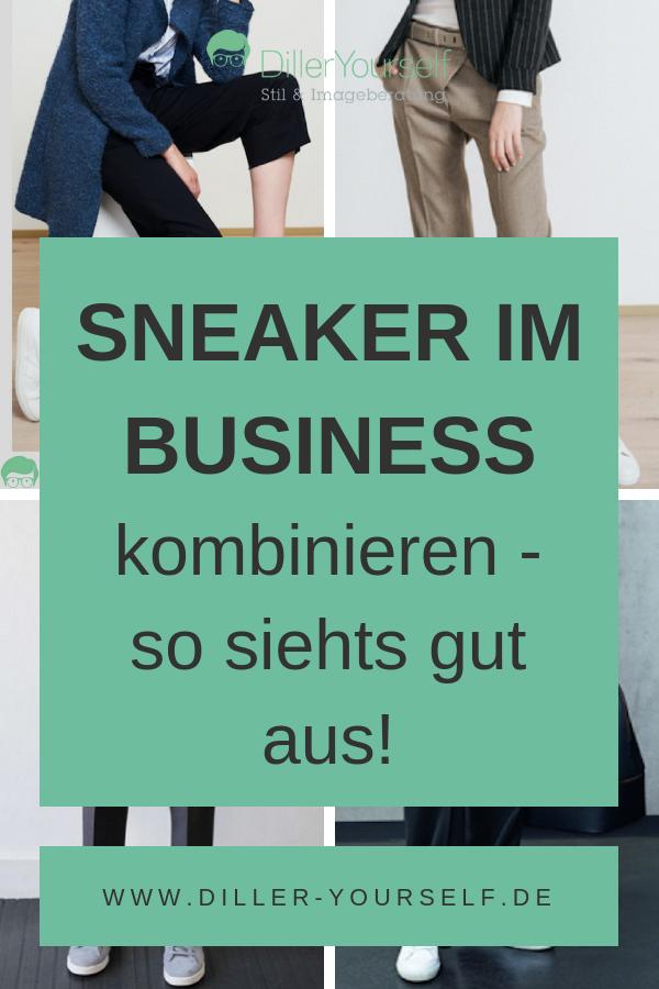 Sneaker im Business kombinieren so sieht es gut aus.