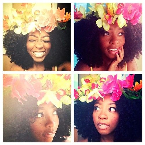 It is time to start rocking floral crowns  patty-pepper:  Dear lovely @jamilasilvera & @Liz Mester Mester Mester St Louis you have awakened the flwer child in me! Thank you for your inspiration ☀️ #naturalhair #bighair #bohemiangirl #inspiration #springtime #flowerchild #naturalhairdaily #naturalskillinit #natural_girlsrock #tendrilandcurls #trialsntresses #curlbox #curlychristians #blackisbeautiful #sunshinegirl #kinkykoilykurlz #onychair #onyckinkycurly #ilovespring #heynaturalhair