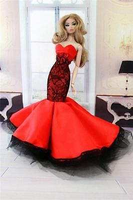 N11-Handmade-Dress-Gown-For-Fashion-Royalty-Vintage-Barbie-Silkstone-Barbie-doll