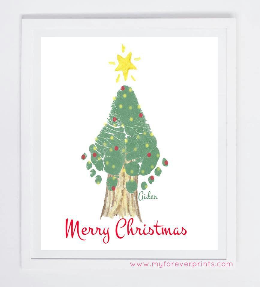 Baby feet tree | Xmas | Christmas, Christmas crafts, Xmas