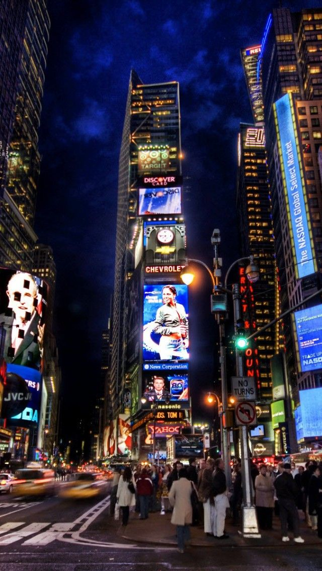 Times Square Night Time Times Square New York Favorite Places Places To Travel