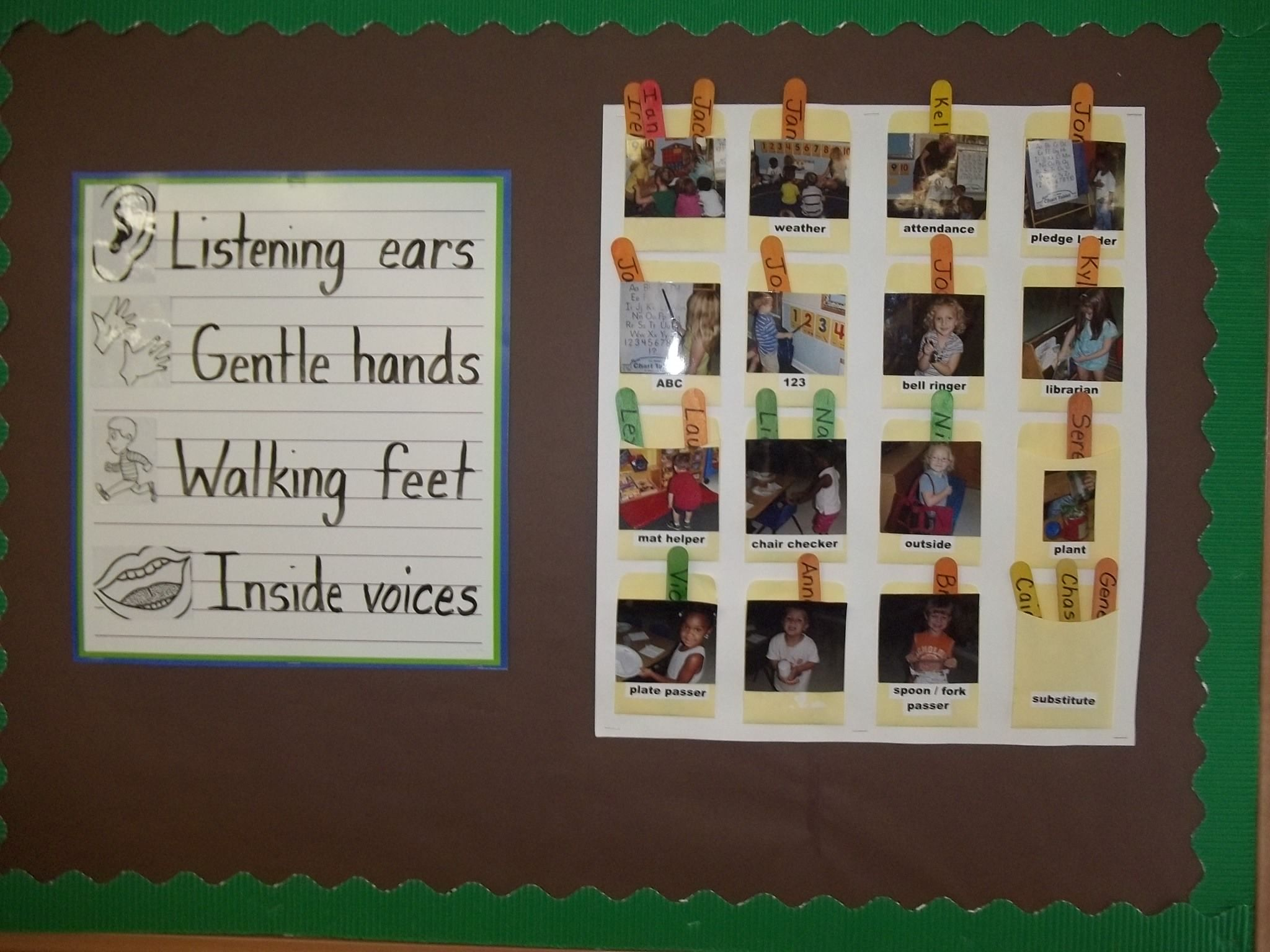 Great Use Of Classroom Management With Like Neutral Colors