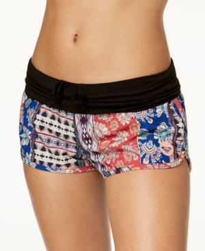 3c5cd66d8e Roxy Endless Summer Printed Swim Boyshort - Multi XS | Products ...