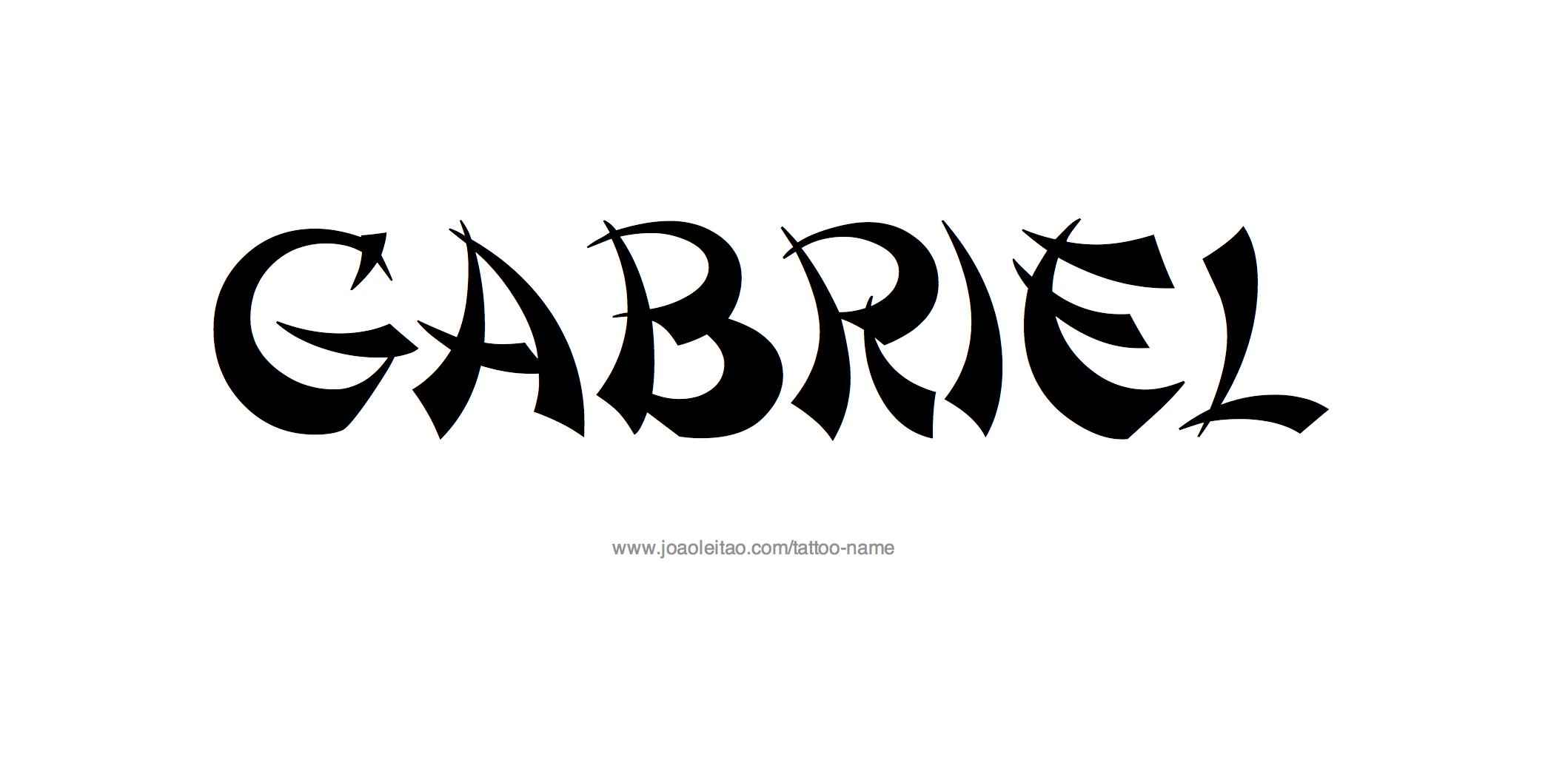 Gabriel Name Tattoo Designs Name Tattoo Designs Name Tattoo Tattoo Designs