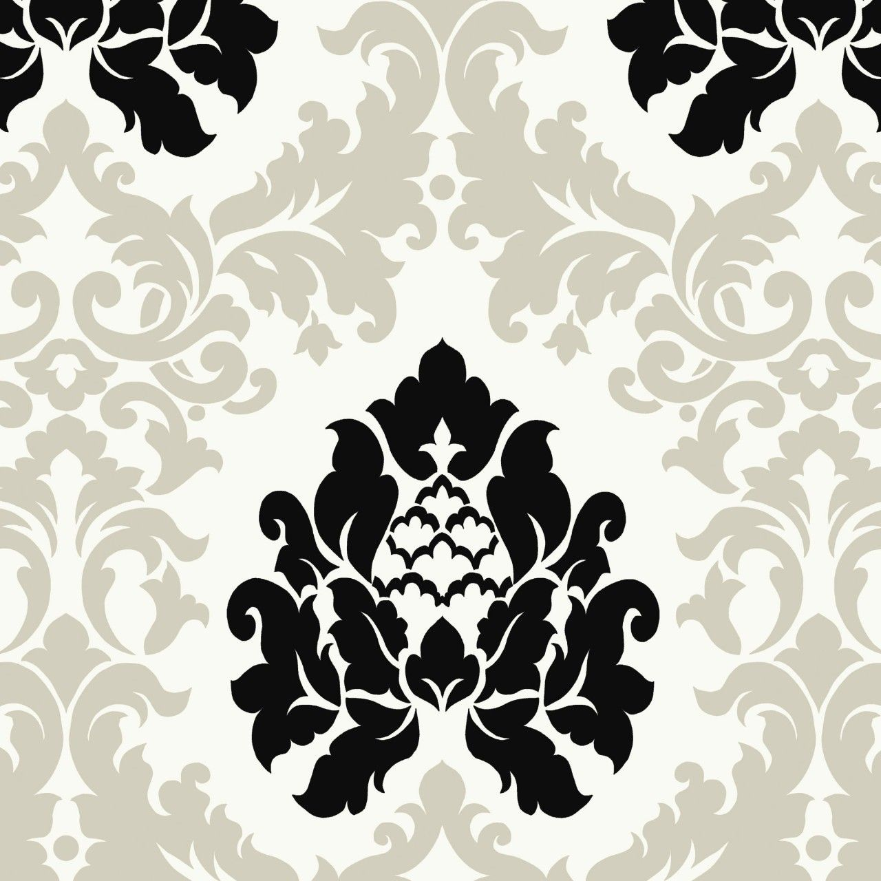 White And Black Damask Wallpaper 565 Hd Wallpapers Res