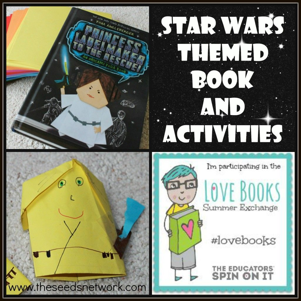 Love Books Summer Exchange Princess Labelmaker To The Rescue The Seeds Network Kids Learning Activities Preschool Activities Star Wars Theme