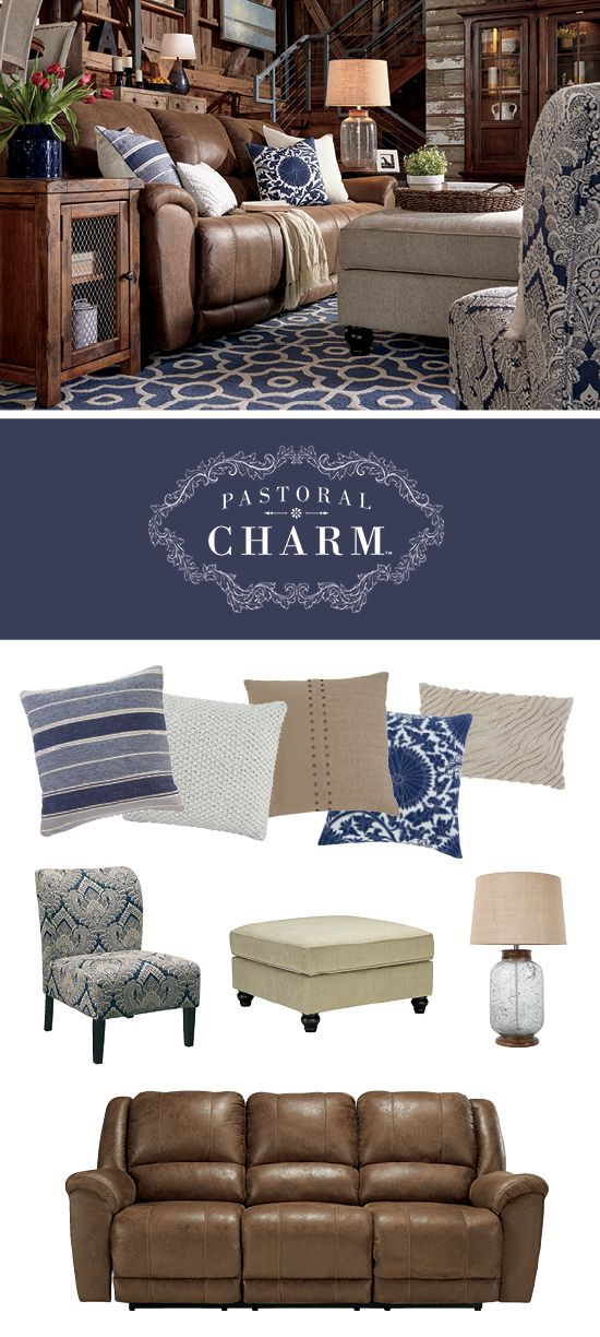 Pastoral Charm™ Living Room Style - Fresh, Soft Colors, Neutrals