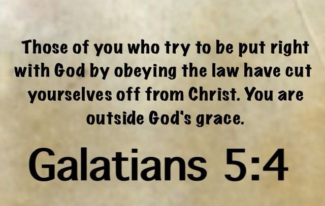 Image result for galatians 5:4