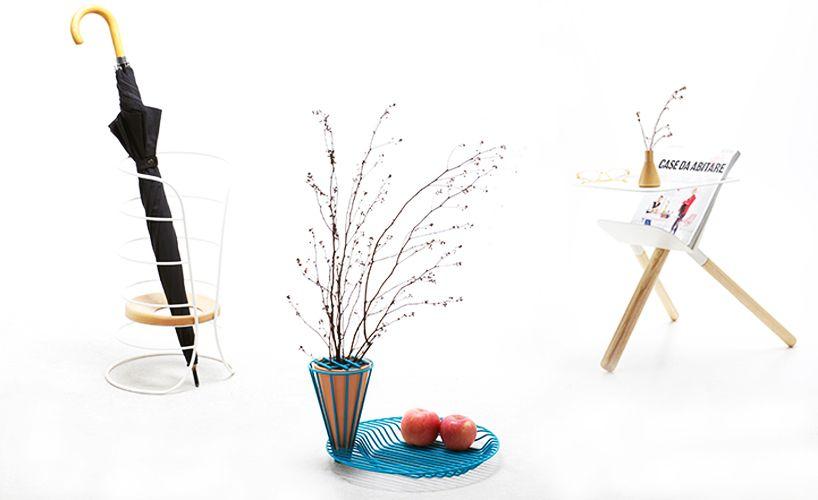 golf jakkapun charinrattana presents wire + wooden objects at IFFS 2014 - designboom | architecture & design magazine