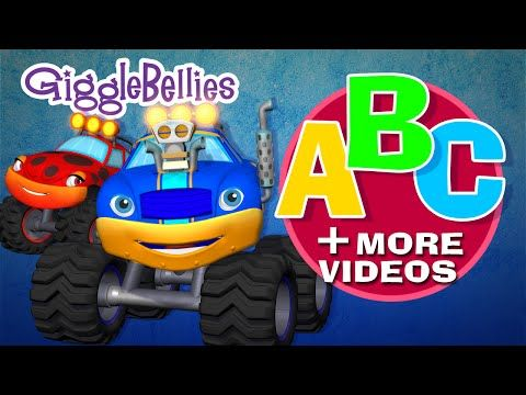 Monster Truck Abc More Monster Truck Espisodes Over 1 Hour Gigglebellies Monster Trucks Kindergarten Kids Childrens Songs