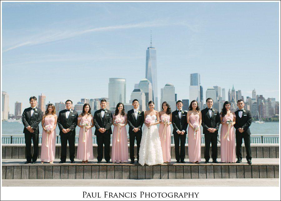 Hyatt Regency Jersey City On The Hudson Nj Wedding Photographer Erica And Arthur