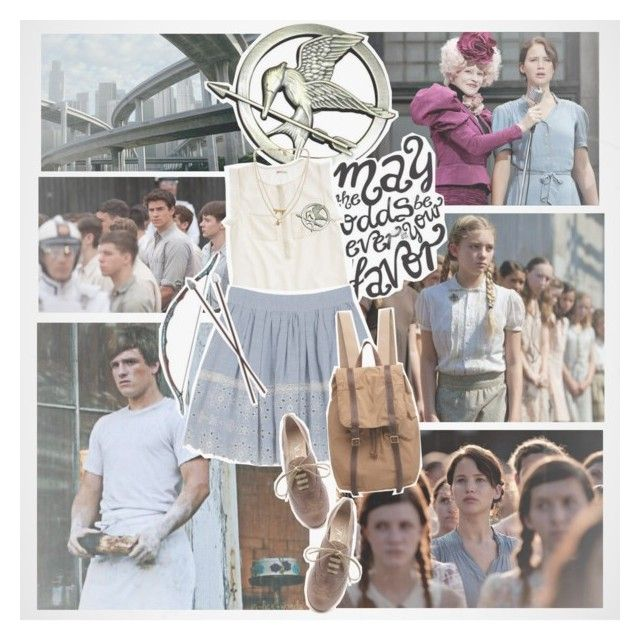 """Hunger Games"" by taffetaontuesdays ❤ liked on Polyvore featuring Madewell, Bow & Arrow, Vanessa Bruno Athé, Attilio Giusti Leombruni, Organic by John Patrick and Bee Charming"