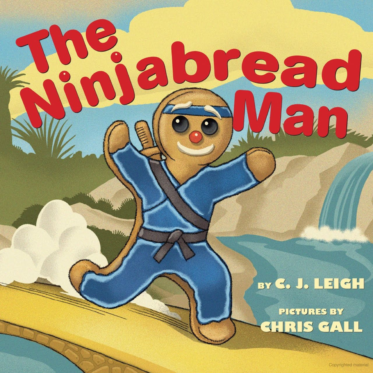 The Ninjabread Man Gingerbread man story