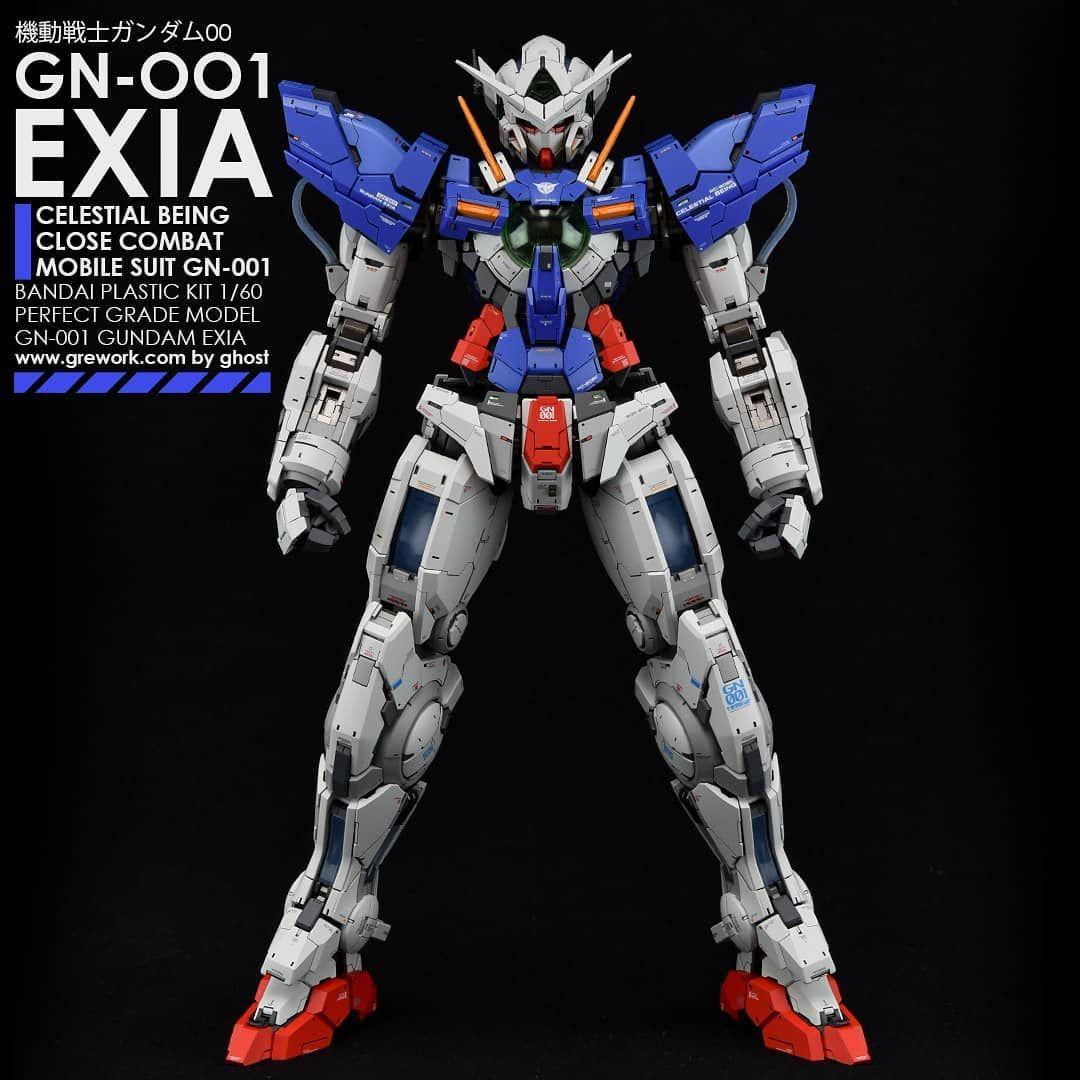 [PG] GN001 EXIA 2018 year work pg gundam