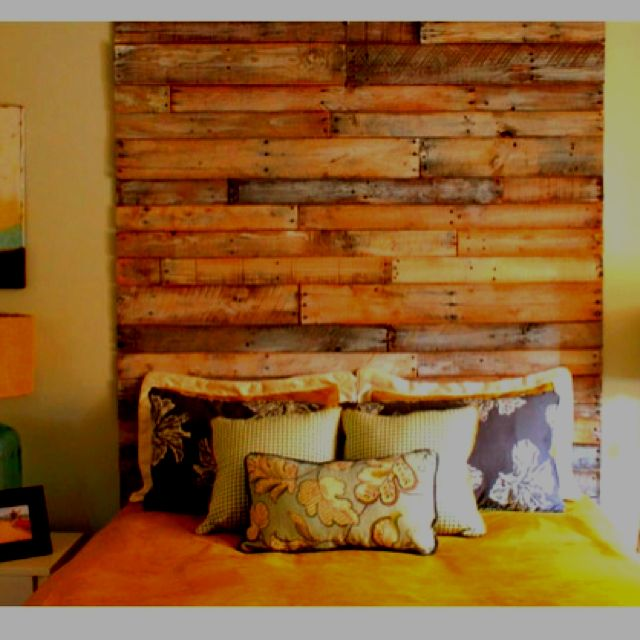 Pallet Headboard Pallet Furniture Plans Home Decor Diy