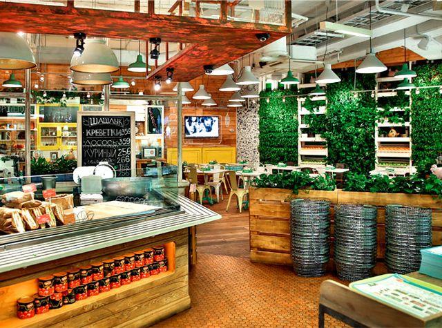 Obed buffet un restaurant design inspiré par la nature
