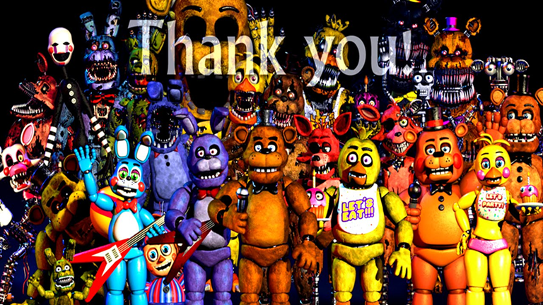 My Animatronic World Fnaf Halloween Update Roblox Fnaf Five