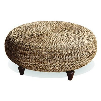 Texture Home Decor Tropical Ottoman=get ik and put legs on