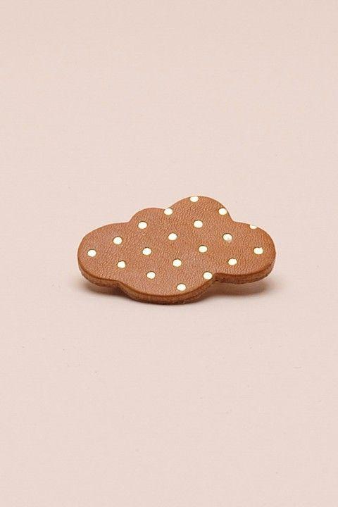 bijoux Tosca ambre 100% cuir - autres accessoires Femme - Des Petits Hauts