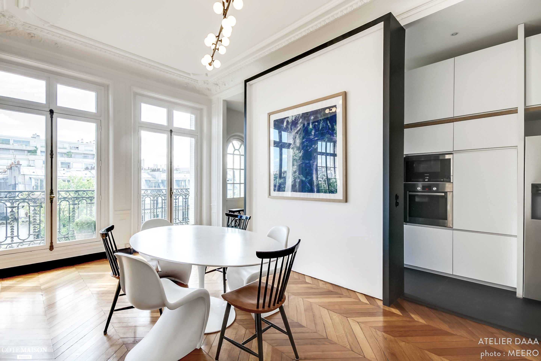 R novation d 39 un appartement haussmannien dans le centre de paris collaboration avec l - Maison de la hongrie paris ...