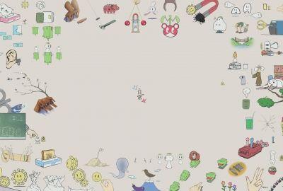 日常 Nichijou イラストの壁紙 壁紙キングダム Pcデスクトップ版
