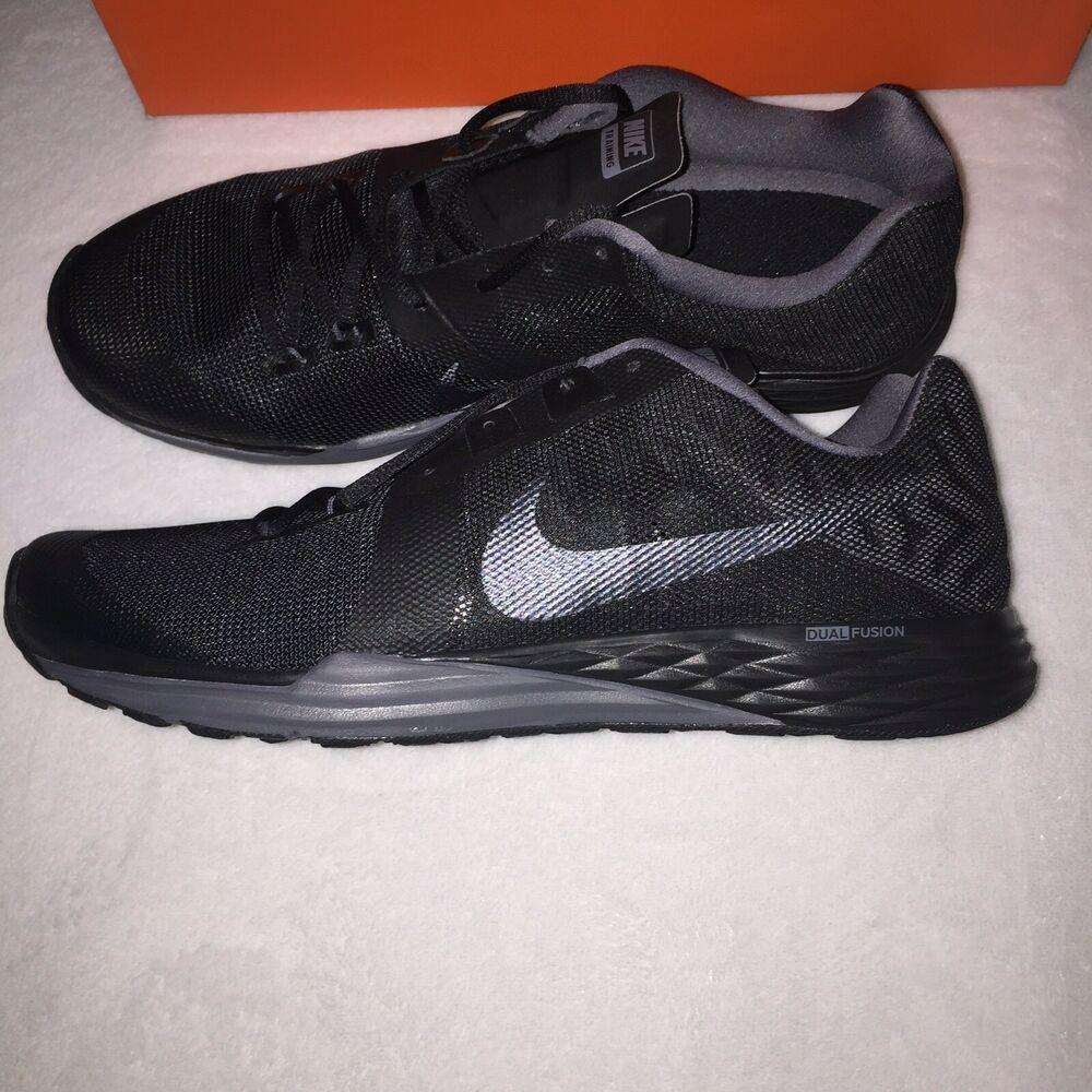 new concept 6f6d5 2966d Mens Nike Train Prime Iron DF BLACK DARK GRAY Size 12  fashion  clothing