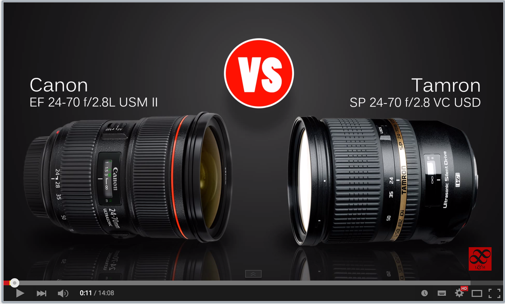 Lens Comparison 24 70mm F 2 8 Canon Versus Tamron Photography Essentials Youtube Photography Digital Photography School