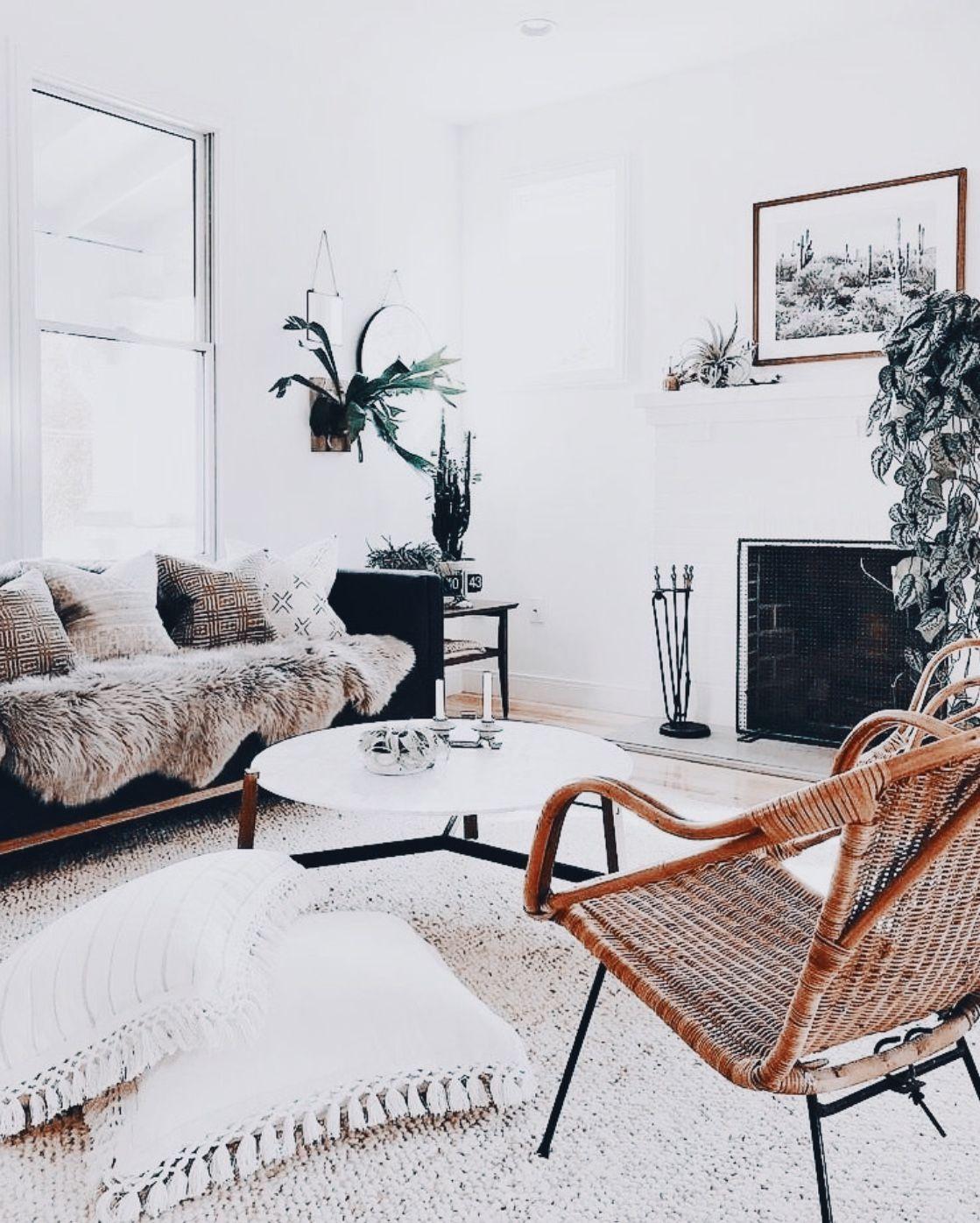 Boho Chic Style Living Room Modern Bohemian Home Decor Living