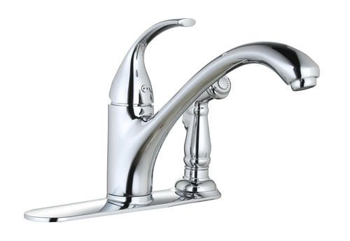 Tuscany® Baden™ One-Handle Chrome Kitchen Faucet at Menards ...