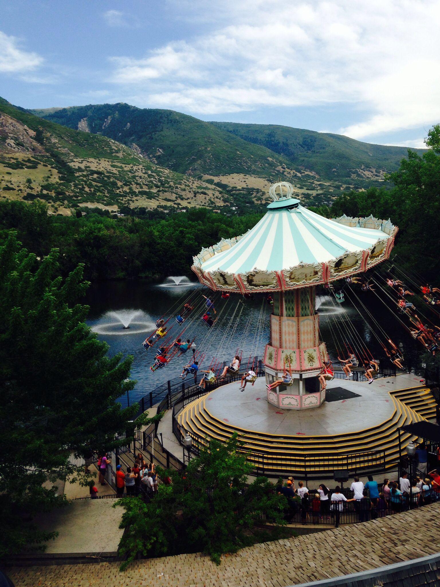 Amusement park, swing, Utah, Lagoon, Ride | Memories✨ | Pinterest ...