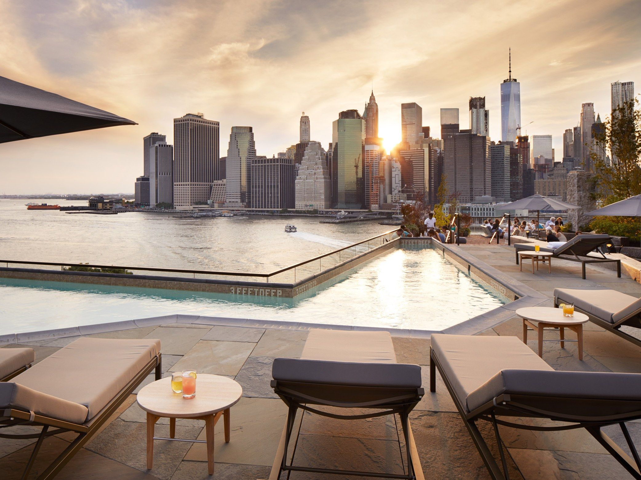 17 Best Rooftop Bars In New York City Hotel Rooftop Bar New York Rooftop Rooftop Bars Nyc