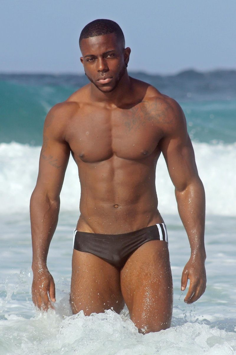 Pin by Tonio Delia on Underwear | Black men, Guys in ...