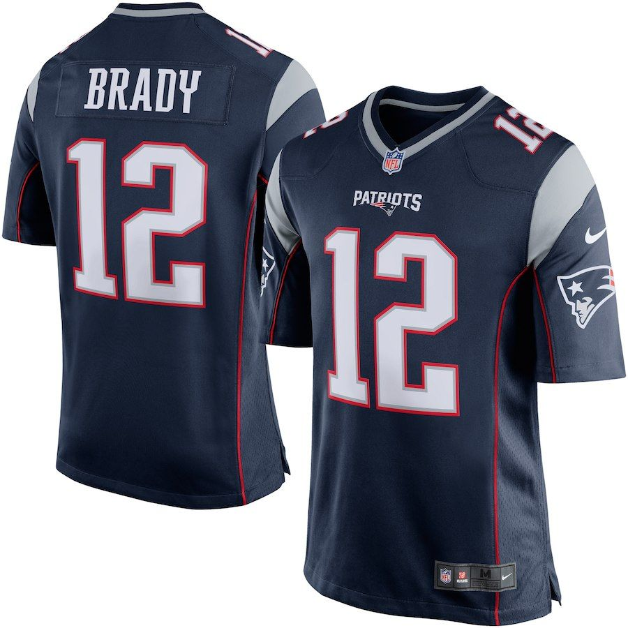 Men S New England Patriots Tom Brady Nike Navy Blue Silver Game Jersey New England Patriots Gear Jersey Patriots New England Patriots Game