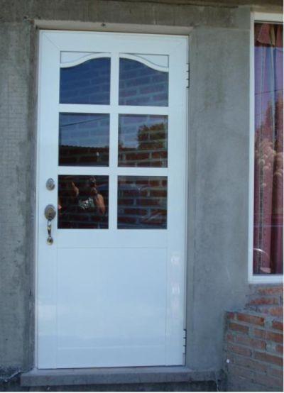 Puertas entrada casa aluminio buscar con google ideas - Puertas de metal para casas ...