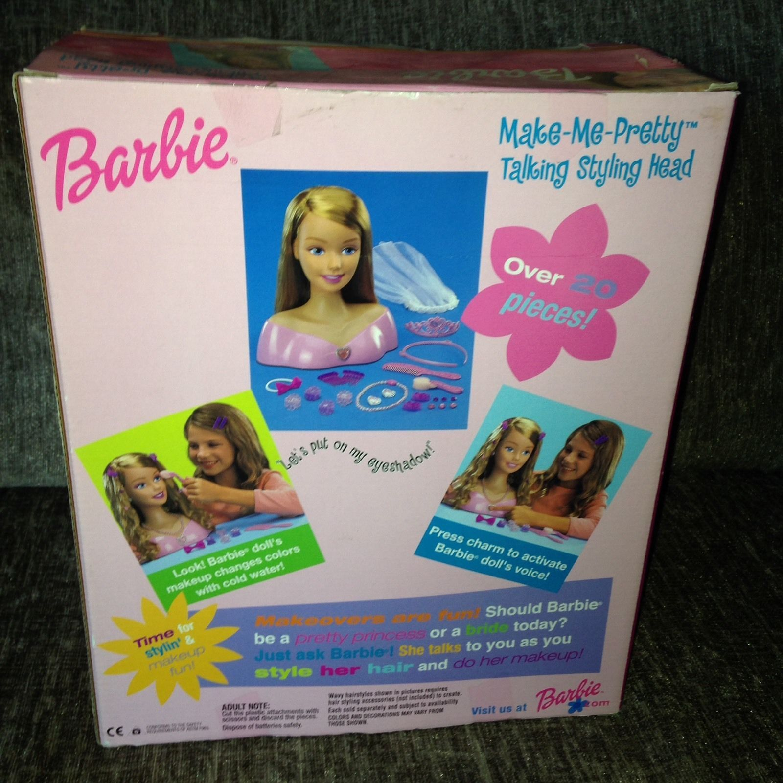 Details About Barbie Make Me Pretty Electronic Talking