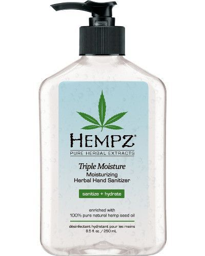 Triple Moisture Herbal Hand Sanitizer 8 5 Oz Hand Sanitizer