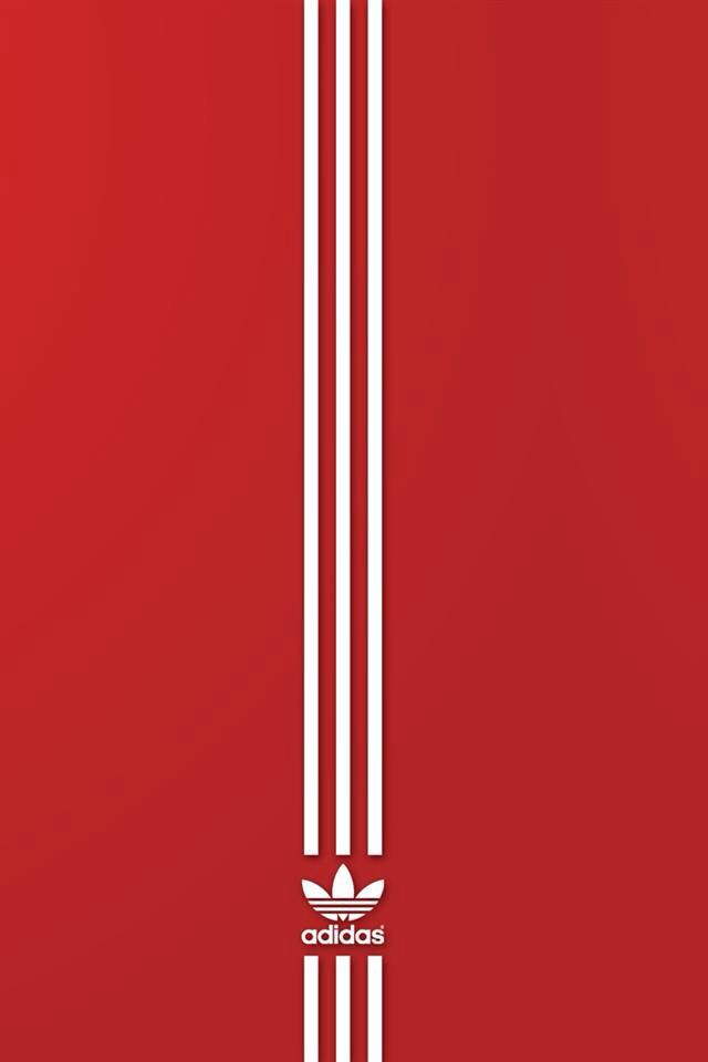 red iphone wallpaper adidas wallpaper team iphone android 9148