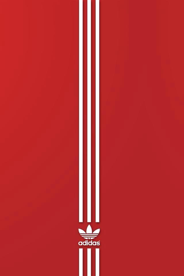 red adidas originals logo wallpaper