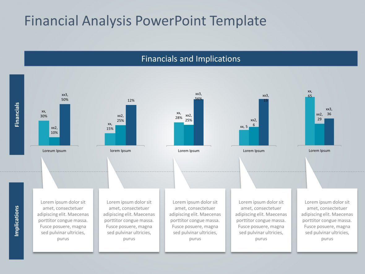 Financial Analysis Powerpoint Template Financial Analysis
