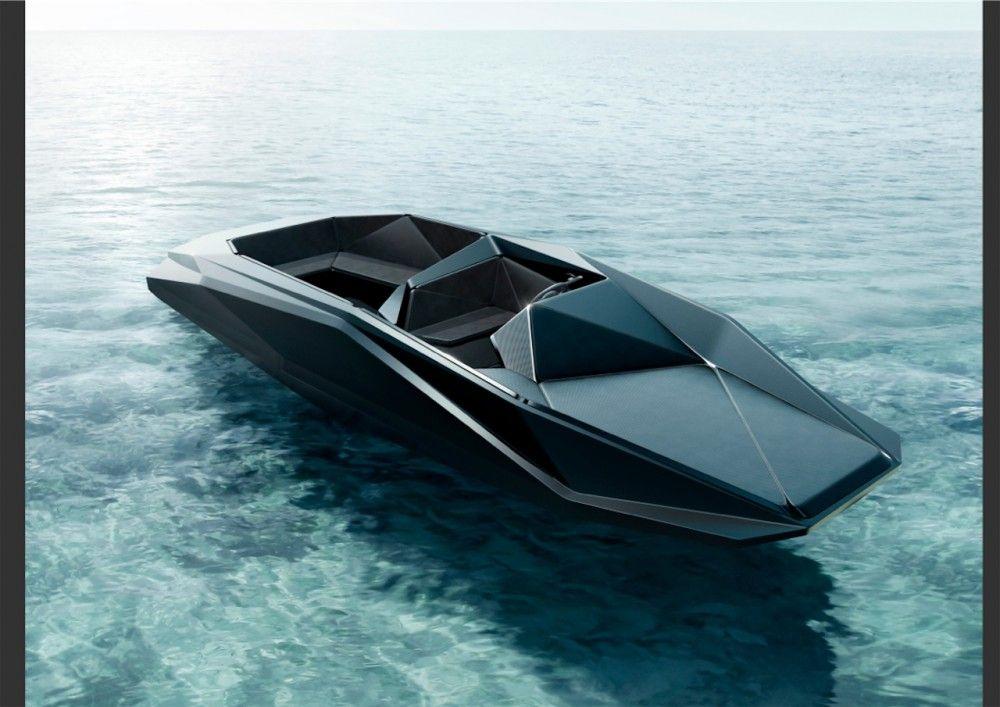 Zaha Hadid designs Z Boat