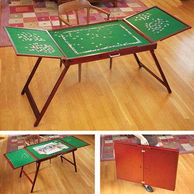 Mesa Malet 237 N Para Puzzle Mesas Jigsaw Table Wooden