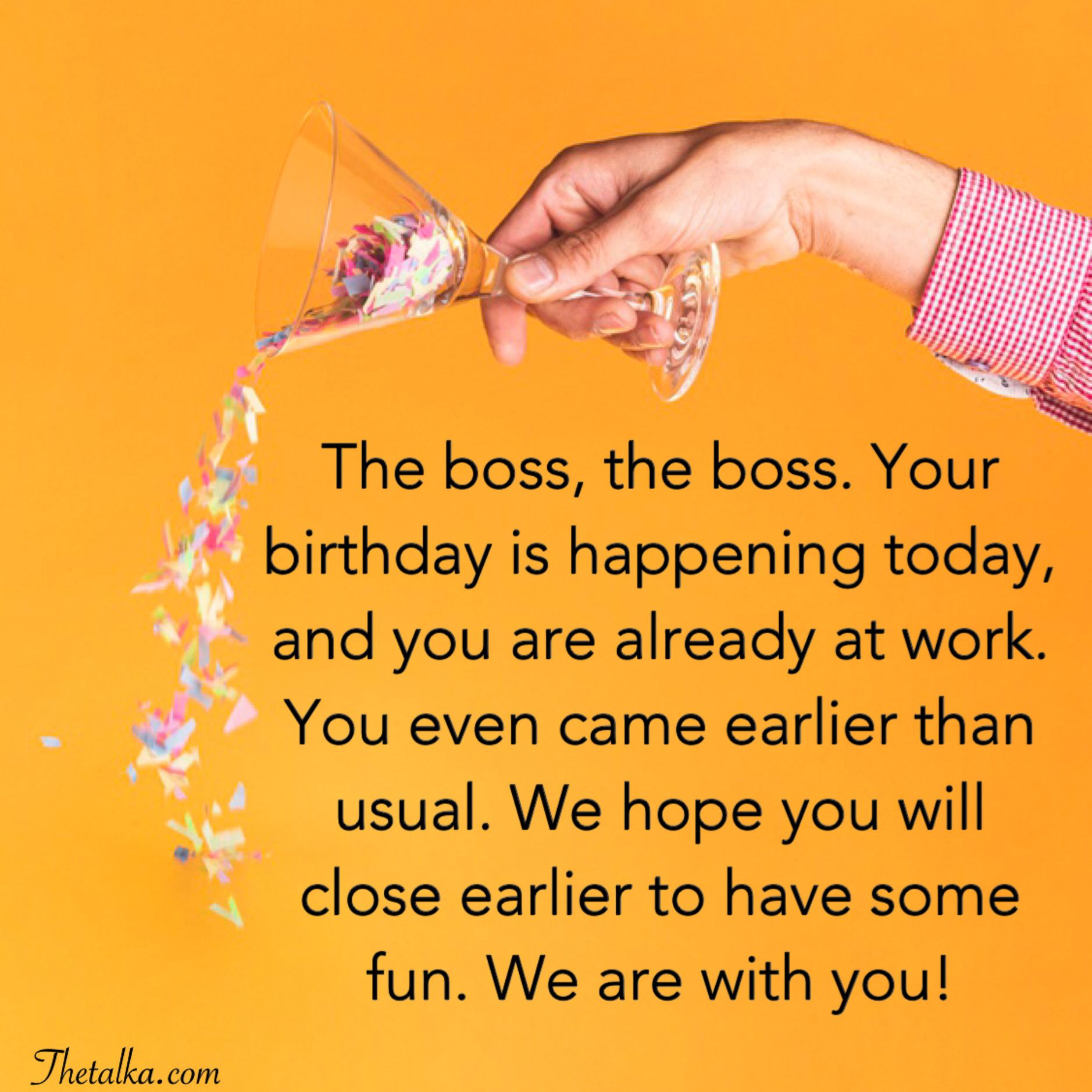 Heartfelt Birthday Wishes For Boss Birthday wishes for