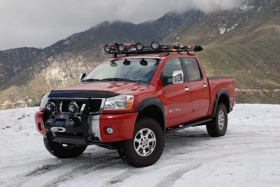 nissan titan truck roof rack