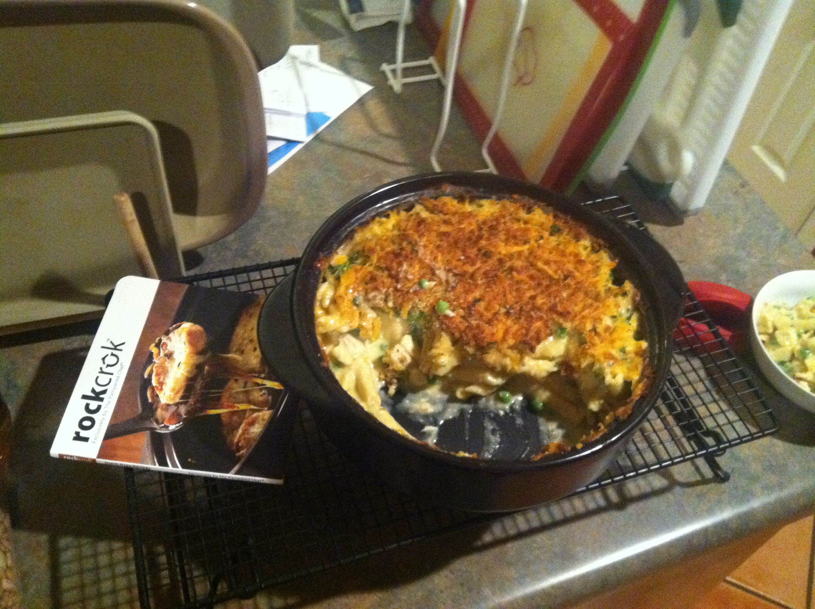 Pampered Chef Cake Recipe In Rice Cooker: Cheesy Chicken Penne Made In The Pampered Chef's New