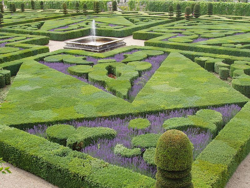 Château de Villandry garden, Loire Valley - A visit to the inside ...