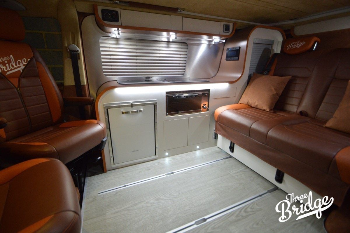 Vw Transporter T5 T6 Camper Conversion Infinity Interior
