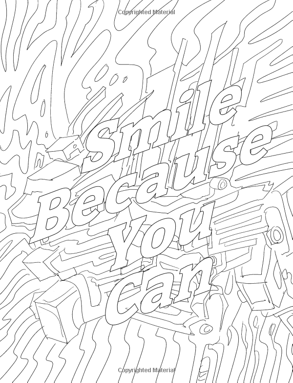 Amazon Good Vibes Coloring Book A Motivational For Adults